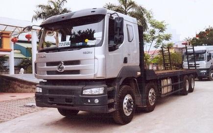 Xe nâng đầu chở máy công trình Chenglong 4 chân