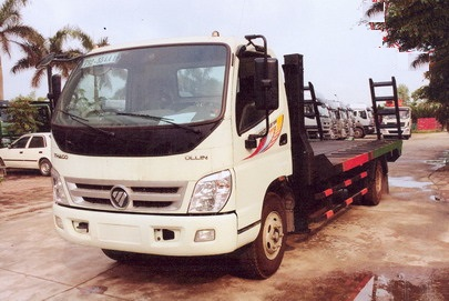 Xe nâng đầu chở máy công trình 7t Thaco Ollin 700B 2021
