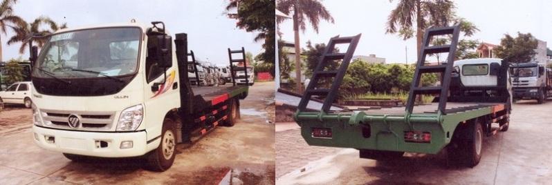 Xe nâng đầu 7 tấn Thaco Ollin 700b