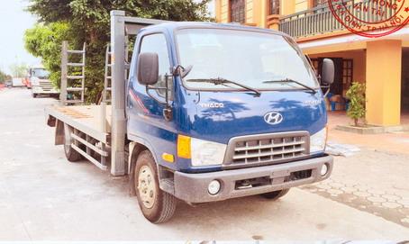 Xe nâng đầu chở máy công trình 5.6t Hyundai HD650