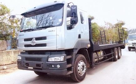 Xe nâng đầu Chenglong 3 chân 12,8 tấn 2021