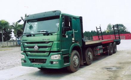 Xe phooc nâng đầu Howo 371 Hp tải 14,9 tấn 2021