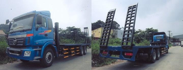 Xe nâng đầu chở máy công trình 12,7 tấn
