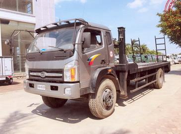 Xe nâng đầu chở máy công trình Cửu Long 5 tấn