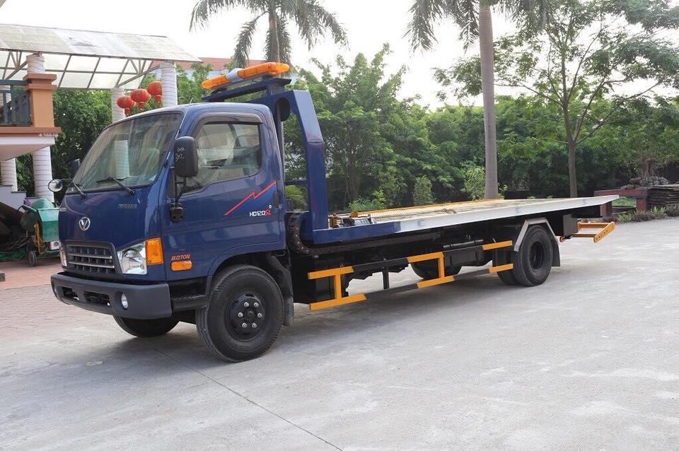 Xe cứu hộ sàn trượt Hyundai HD120SL tải trọng 5 tấn 2021