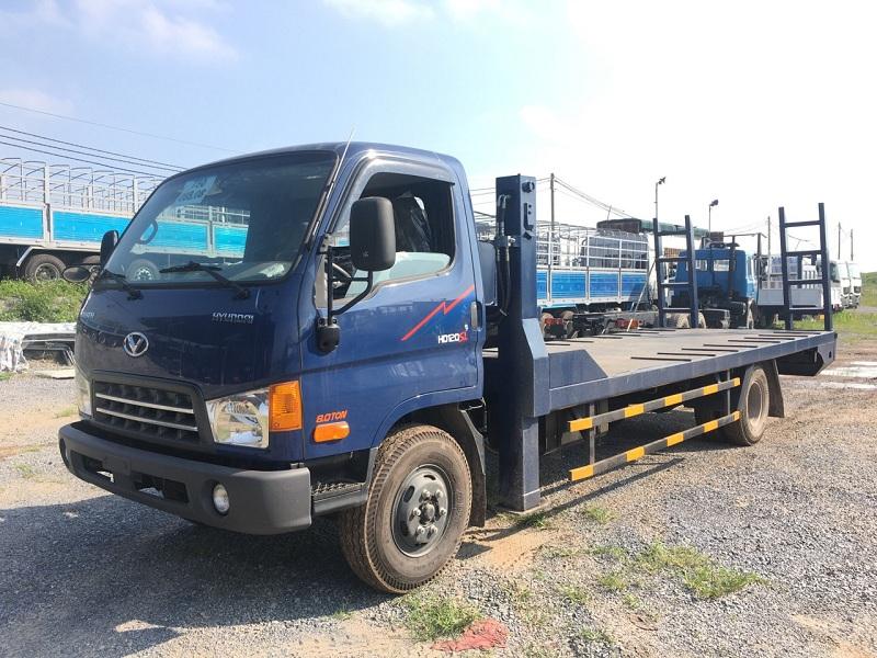Xe chở máy công trình Hyundai HD120SL 7,35 tấn  2019-2020